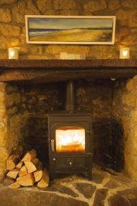 pound cottage wood burner